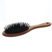 Elegant Brushes Anti-Static Oval Cushion Pin Brush, Brown