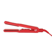 ISO Beauty Turbo Silk Hair Straightener - Red