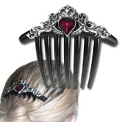 Claddagh Hair Comb Gothic Hair Accessories Alchemy Alternative Lifestyle