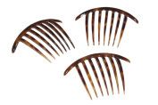 French Twist Comb in Tortoise Shell - Made in France