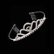 Bridal Wedding Jewellery Crystal Rhinestone Beautiful Vintage Hair Tiara