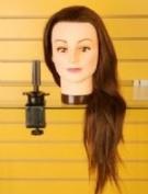EVE Human Hair Mannequin Training Head 46cm
