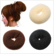 Fashion Bun Hair Former Doughnut Shaper Ring Styler Hairdressing Twist S M L Hot