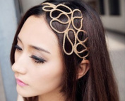 BONAMART . Hollow Out Braided Stretch Hair Head Band Accessories Headband Hairband for Women