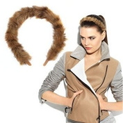 Hair U Wear Faux Fur Head Band Lynx Not!