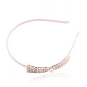 Fashion Big Pearl Bowknot Hair Accessory Headband