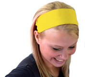 Bright Yellow Perfect Summer Inspiration Super Cute Soft Wide Headband