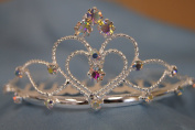 (SMALL)Elegant Bridal Wedding Tiara Crown with Crystal Party Accessories C6055