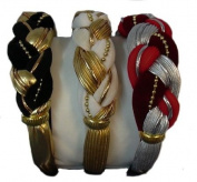 Braided Hair Bands Set of 3