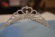 (MEDIUM)Elegant Bridal Wedding Tiara Crown with Crystal Party Accessories DH5754