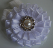 Headband with Beautiful Ribbon Flower - Hair Accessory for Any Occasion
