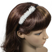 Rocking Carefree Bead Crystal Bunch 0.6cm Headband - Various Colours