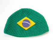 Brazil Flag Beanie Hat Cap