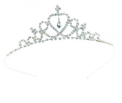 Child Crystal Tiara Crown for Flower Girls, Bridesmaid, Princess Costume, First Communion