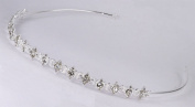 Delicate Bridal Wedding Headband of Austrian Rhinestone Motifs #8F6C1