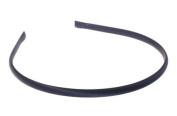 L. Erickson USA 0.6cm Ultracomfort Headband - 100% Silk Shantung