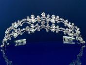 SparklyCrystal Wedding Crystal Tiara 9455