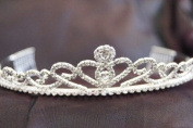 Beautiful Bridal Wedding Tiara Crown with Crystal Party Accessories C120016