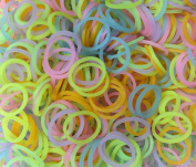 Refill Bands & Clips Mixed Colours (3 Free Charms Included For Solid Colours)