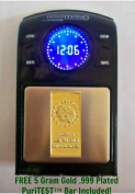 NEW Electronic Dental Gold Scale with Clock! Grammes, Troy Oz, Pennyweight & More!
