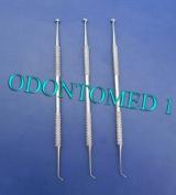 3 Ball Burnisher # 27/29 De Dental Amalgam Instruments