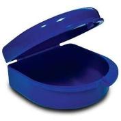 Impact Resistant Retainer Case BLUE