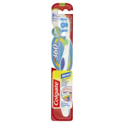 Colgate Toothbrushes 360 Degrees Compact Head Medium