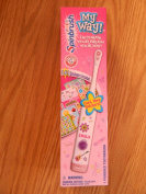Arm & Hammer Kid's My Way Spinbrush battery opereated toothbrush with 141 stickers to decorate