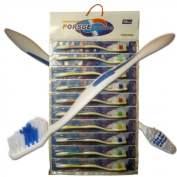 Toothbrushes Lot of 10 Wholesale Standard Classic Medium Soft Toothbrush