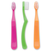 SmileCare Youth Neon Grip Toothbrushes - 48- per Pack