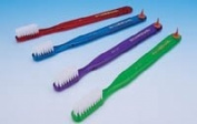 411PC Part# 411PC - GUM Toothbrush Adult Soft Full w/Stimulator 12/Pk By Sunstar Americas, Inc