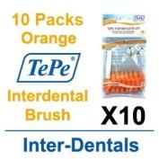 TePe InterDental Brushes Orange - 10 Packets