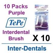 TePe InterDental Brushes Purple - 10 Packets