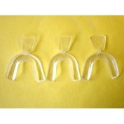 White Smile's D.I.Y. (Do It Yourself) Moldable THERMOFITTING 3 Teeth Whitening Trays