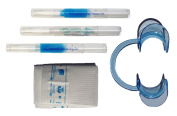 Complete Teeth Whitening Pen Kit with Pre-treatment, Non-peroxide Whitening Pen, Remineralization, Cheek Retractor and Bib