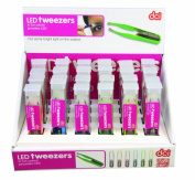 DCI Bright Led Tweezers, Assorted Colours