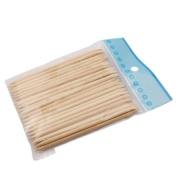 50PCS New Facial Eyebrow-Wooden Wood Wax Waxing Hair Removal Sticks Applicator