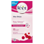 Veet Easy Grip Normal Skin 20 Strips