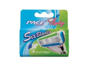 Smooth TouchTM 6 Blade Razor System for Women Cartridges (Dorco Shai)
