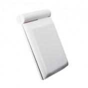 Compact Hand Makeup Pocket Mirror with 8 Led Light White