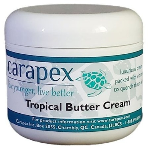 Carapex Tropical Butter Cream, Natural Cocoa and Shea Butter | PrestoMall -  Body Moisturisers