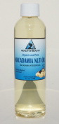 Macadamia Nut Oil Organic Carrier Cold Pressed 100% Pure 120ml