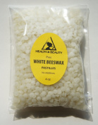 White Beeswax Bees Wax Organic Pastilles Beards Pure 120ml