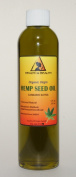 Hemp Seed Oil Organic Virgin Carrier Cold Pressed Unrefined Pure 240ml