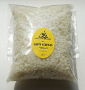 White Beeswax Bees Wax Organic Pastilles Beards Pure 470ml, 1 LB