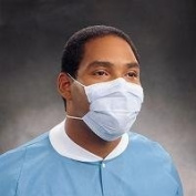 Kimberly-Clark Procedure Mask, Pleat Style With Earloops, 50/bx