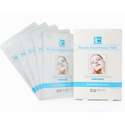 Plac Placenta Collagen Hyaluronic Facial Essence Serum Sheet Mask 32g*5patch Korean Cosmetic