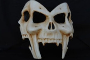 Multiple Skull Faces Mask Design Laser Cut Masquerade Mask for Mardi Gras Events or Halloween