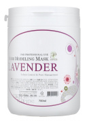 700ml Premium Modelling Mask Powder Pack Lavender for Sebum Control and Pore Treatment