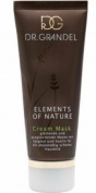 Dr. Grandel Element of Nature Cream Mask 200 Ml Pro Size - Smoothing and Balancing Mask with Kaolin and Epigran a Smooth and Regular Beautiful Skin